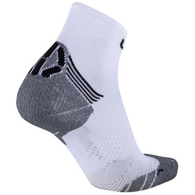 UYN Run Superleggera Calze Donna, bianco/grigio